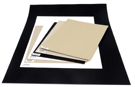 Art Pads & Paper - Black Album Board & Paper