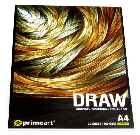 Art Pads & Paper - Draw Pad 160g