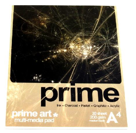 Art Pads & Paper  - Prime Pad 200g