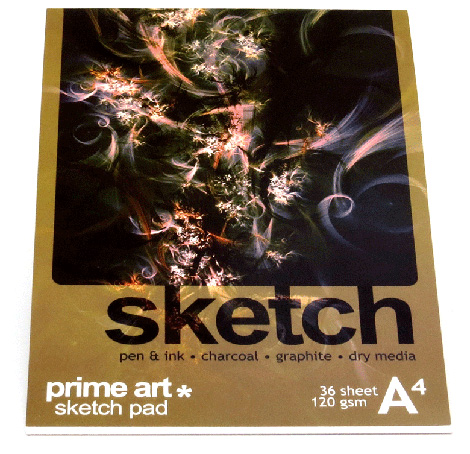 Art Pads & Paper - Sketch Pad 120g 36 sheet