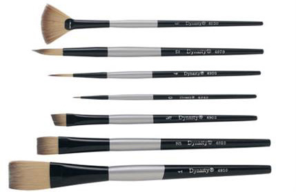 Brushes - Dynasty Series 4900 Silver Black
