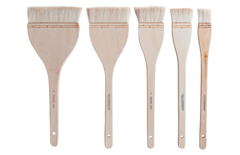 Brushes - Hake Brushes