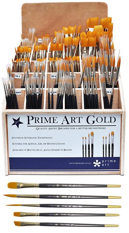 Brushes - Prime Art Gold