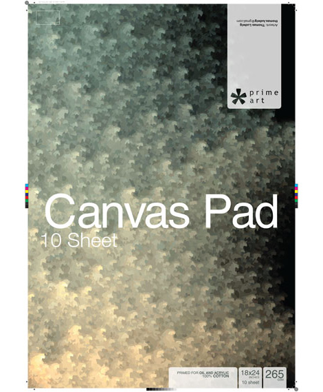 Canvases - Prime Art Canvas Pads
