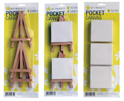 Canvases - Prime Art Pocket Canvas