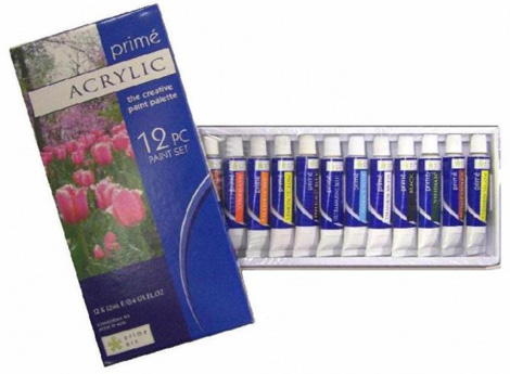 Paint sets - Prime Acrylic Set 12x12ml tubes